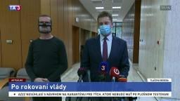 Brífing ministra A. Doležala aj o fungovaní letísk počas pandémie