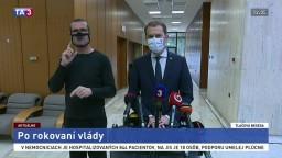 TB I. Matoviča po rokovaní vlády o testovaní a možnom lockdowne