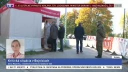 Situácia v Bojniciach je kritická, v nemocnici dochádzajú lôžka