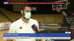 Vedúci mužstva M. Páleník o tréningoch a zápasoch v bubline