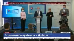 TB ministra B. Gröhlinga o pripravovaných opatreniach v školstve