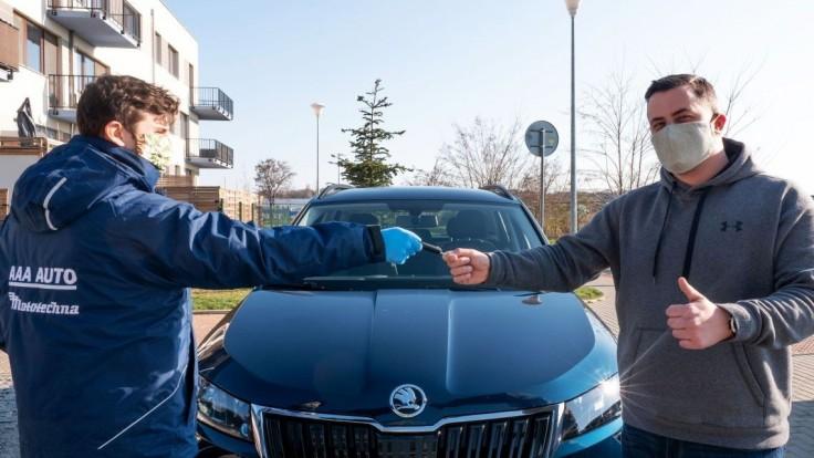 AAA AUTO zahájilo predaj vozidiel on-line, posilňuje hygienické opatrenia a dezinfekciu