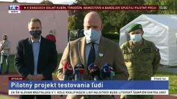TB ministra obrany J. Naďa o priebehu testovania na Orave