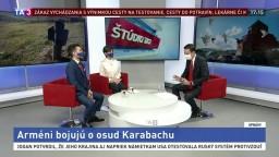 ŠTÚDIO TA3: Arméni žijúci na Slovensku o osude Karabachu