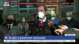 TB ministra zdravotníctva M. Krajčího o priebehu testovania v Bardejove