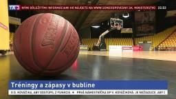 Našich basketbalistov čakajú dva reprezentačné zápasy v bubline