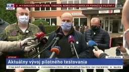 TB J. Naďa a M. Krajniaka o aktuálnom vývoji pilotného testovania