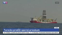 Turecko predĺži prieskum v spornej oblasti stredozemného mora