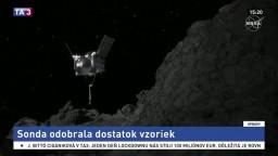 Pokus NASA sa vydaril, sonda odobrala dostatok vzoriek