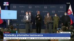 TB premiéra I. Matoviča o vyhodnotení pilotného testovania