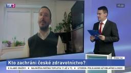 ŠTÚDIO TA3: Politológ J. Kubáček o záchrane českého zdravotníctva