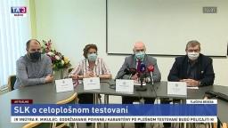 TB Slovenskej lekárskej komory pred celoplošným testovaním