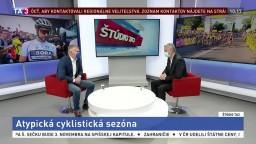 ŠTÚDIO TA3: Prezident SZC P. Privara o atypickej cyklistickej sezóne