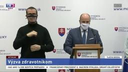 TB ministra obrany J. Naďa o výzve zdravotníkom