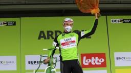 Benett sa tešil z víťazstva predčasne, 9. etapu vyhral Ackermann