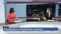 HOSŤ V ŠTÚDIU: Redaktorka L. Ježová o prezidentkinom vyhlásení