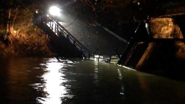Zrútil sa most cez Hornád. Bol v havarijnom stave a uzavretý