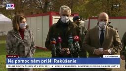 TB ministrov I. Korčoka a J. Naďa o pomoci rakúskych zdravotníkov