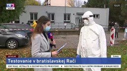 Minister M. Krajčí aj o situácii s testovaním v mestskej časti Rača