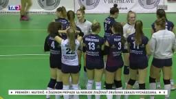 Volejbalistky čakalo siedme kolo, šláger sa hral v Bratislave