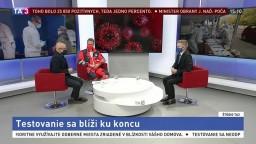 ŠTÚDIO TA3: M. Šóth a M. Polák o celoplošnom testovaní