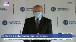 TB predsedu ZMOS B. Trégera o celoplošnom testovaní