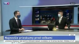 HOSŤ V ŠTÚDIU: V. Lichvár o najnovších prieskumoch pred voľbami