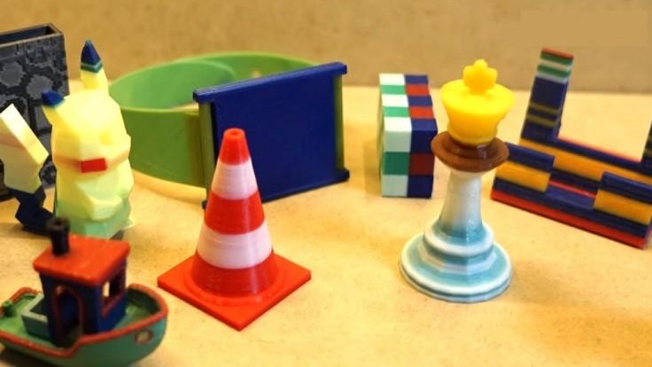 Nová technológia umožní 3D tlač objektov z viacerých materiálov naraz