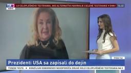 ŠTÚDIO TA3: M. Holubová o prezidentoch USA