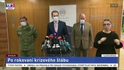 TB I. Matoviča, J. Naďa a D. Zmeka o druhom kole celoplošného testovania