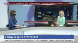 HOSŤ V ŠTÚDIU: P. Kordiaková o prezidentských voľbách v USA