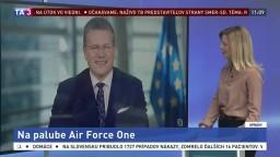 Podpredseda EK M. Šefčovič o ceste s Trumpom v Air Force One