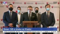 TB predsedu Smeru-SD R. Fica aj o teroristickom útoku vo Viedni
