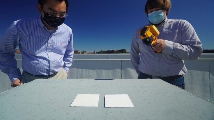 Nová super biela farba odráža až 95,5 percent slnečného žiarenia