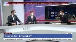Quo vadis, Amerika? Výsledky sme opäť sledovali v štúdiu TA3