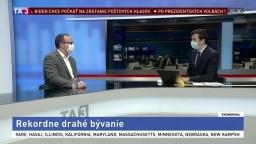 HOSŤ V ŠTÚDIU: Prezident NARKS J. Palenčár o zdražení bývania