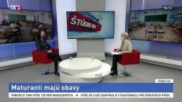 ŠTÚDIO TA3: I. Poláčková z NO Živica o maturantoch počas pandémie