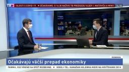 HOSŤ V ŠTÚDIU: Analytik J. Valachy o prepade slovenskej ekonomiky
