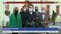 TB premiéra I. Matoviča a ministra J. Naďa o druhom kole testovania