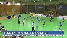 Volejbalistky Slávie opäť neprehrali, zdolali Nové Mesto nad Váhom