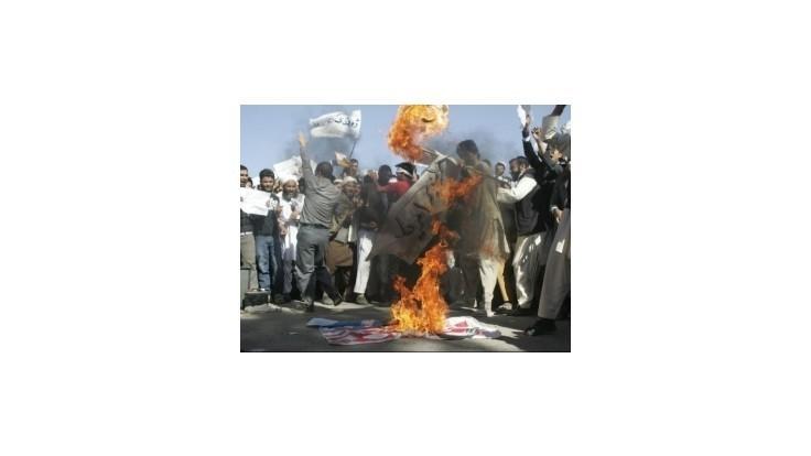 Afgánsky protest proti filmu o Mohamedovi prerástol do násilia