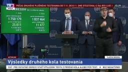 TB I. Matoviča a ministrov o hodnotení 2. kola plošného testovania