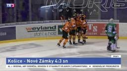 Košice po troch prehrách úspešne, Nové Zámky nezvládli nájazdy