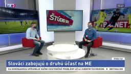 ŠTÚDIO TA3: Bývalý reprezentant Ľ. Michalík aj o zápase so Severným Írskom