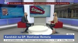 V TA3 predstavujeme kandidátov na GP. Kto je Rastislav Remeta