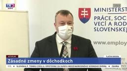 TB ministra práce M. Krajniaka o zásadných zmenách v dôchodkoch