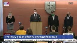 TB R. Mikulca, P. Kovaříka a V. Krčméryho o protestoch počas pandémie