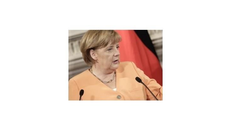 Merkelová: Európu čaká dlhý zápas na prekonanie finančnej krízy
