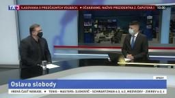 ŠTÚDIO TA3: Sociológ M. Vašečka o oslave slobody