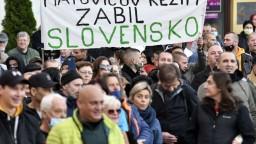Protest neobišiel ani Košice, v centre sa zišlo približne tisíc ľudí